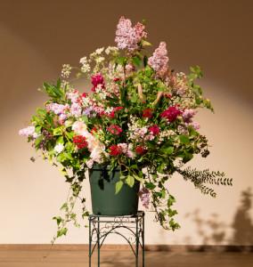 Fresco Trio - 27 april 2014 De bloemen waren opgemaakt door Els van Roosmalen