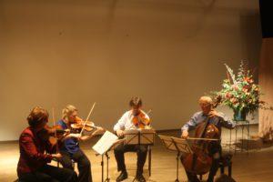 Utrecht String Quartet in actie