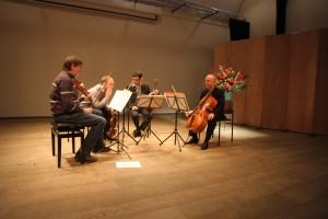 Quatuor Danel op zondag 18 januari 2015 in Oostvoorne