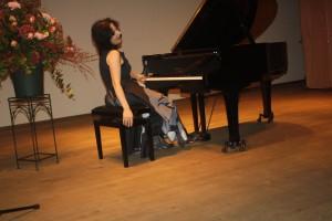 einde recital van Maria Petkova.