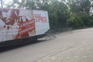 Classic Express op 22 juni 2016 voor basisschoolleerlingen in Rockanje